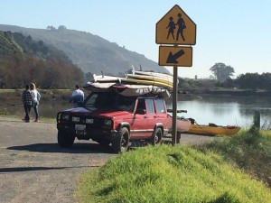 Free Kayak, Canoe and SUP Delivery to Bolinas and Seadrift Lagoons