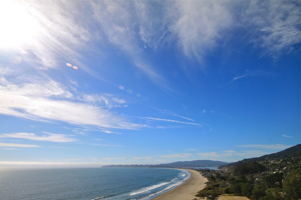 Stinson and Bolinas view