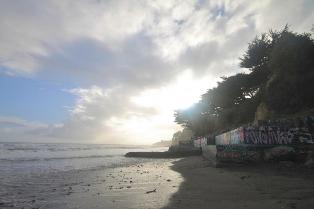 Bolinas Beach north facing